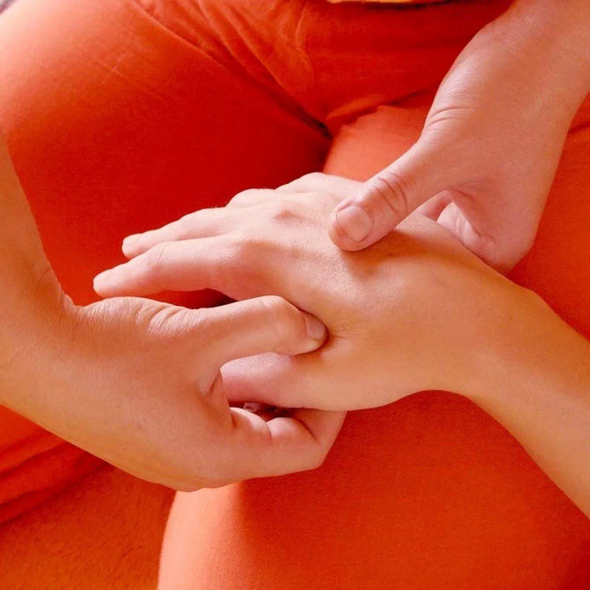 Массаж рук при похудении
