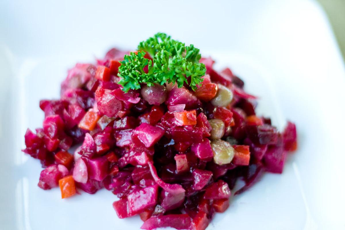 рецепты блюд при панкреатите винегрет